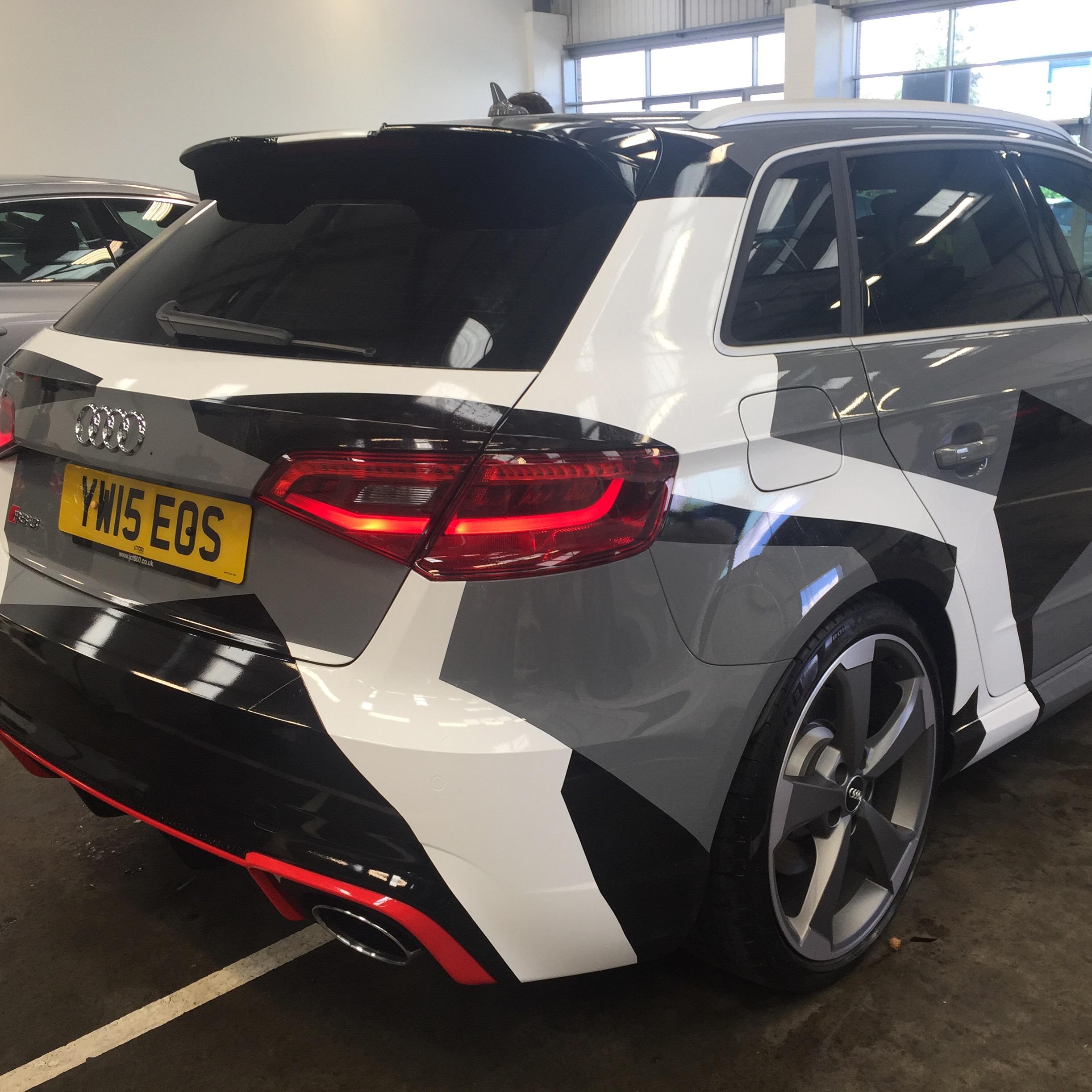 Audi Rs3 Wrapped Yorkshire Tinting